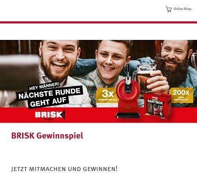 Rossmann Gewinnspiel Brisk Bier Heimzapfanlagen