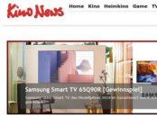 Samsung Smart TV Gewinnspiel Kino News