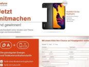 Smartphone-Gewinnspiel analysa Deutschland Huawei P20 lite