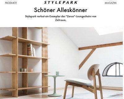 Stylepark Gewinnspiel Zenso-Loungechair von Zeitraum