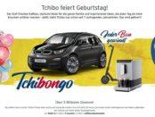 Tchibo Auto-Gewinnspiel Tchibongo 8 BMW i3
