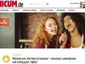 Unicum und Melitta Gewinnspiel The Voice of Germany Finale Tickets