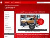 Vodafone Gewinnspiel Sony 4k Fernseher im Wert von 1.000 Euro