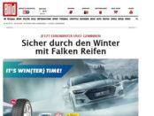 Winterreifen Gewinnspiel Falken und Bild.de