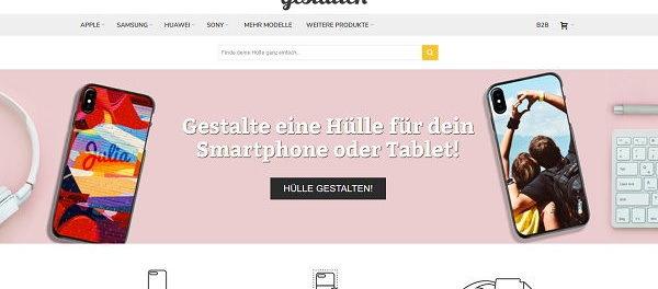 selbstgestaltete Smartphone Hülle Gewinnspiel