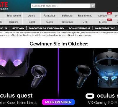 Alternate Gewinnspiel Oculus VR-Gaming Zubehör