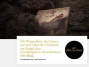 Amsterdam Reise Gewinnspiel Warner Bros 2019