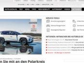 Auto Bild Gewinnspiel Reise zum Polarkreis Winterreifen Test mitmachen