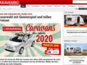 Auto-Gewinnspiel Caravaning Magazin Fiat 500 Dolcevita Cabrio