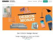 Couch Magazin Design Monat Gewinnspiel Preise für 21.000 Euro