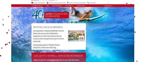 DERPART Türkei Reise Gewinnspiel 1 Woche Urlaub gewinnen