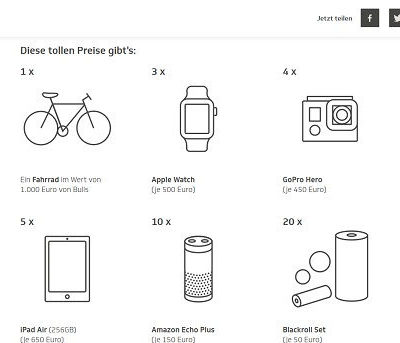 Die Techniker Brainchecker Gewinnspiel Fahrrad und Apple Watch
