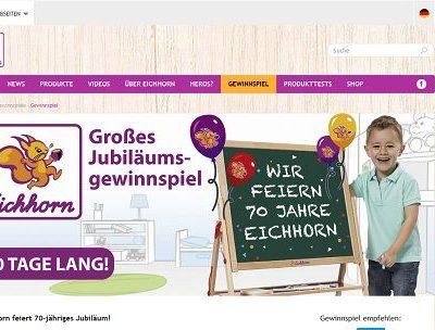 Eichhorn Toys Gewinnspiel Spielwarenpakete gewinnen
