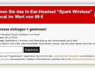 Focal In-Ear-Headset Gewinnspiel Mobilefidelity Magazin