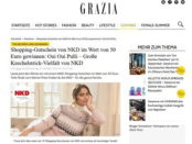 Grazia Magazin Gewinnspiele NKD Shopping-Gutscheine