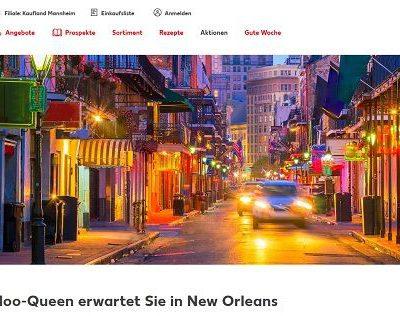 Kaufland Halloween Gewinnspiel New Orleans Reise gewinnen