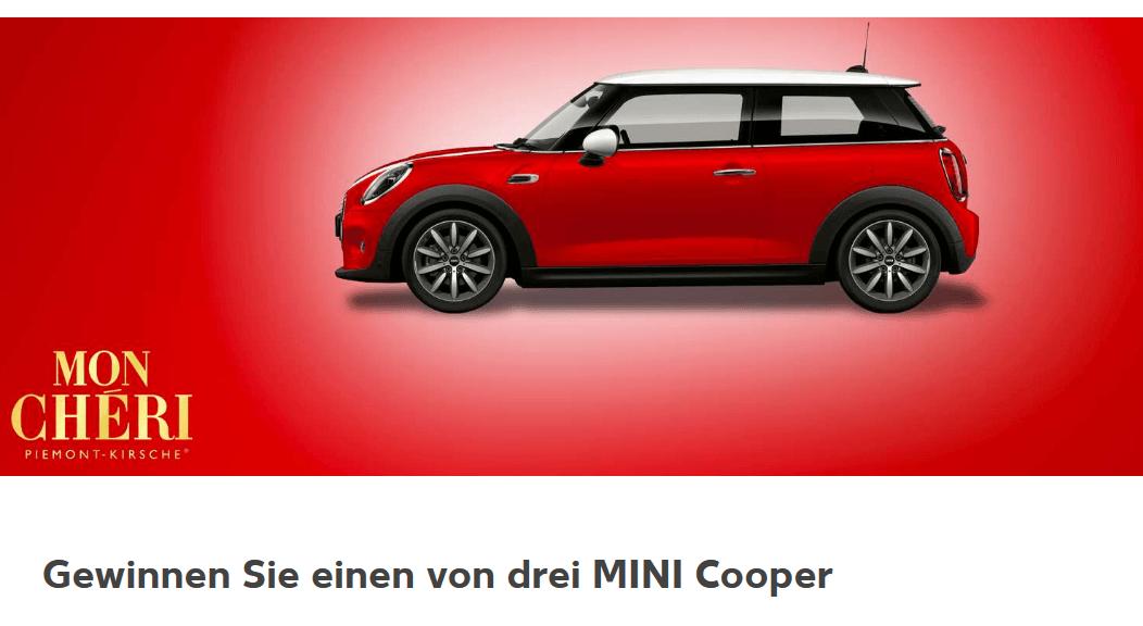 Auto Gewinnspiel Kaufland und Mon Cheri 3 Mini Cooper (UPDATE 2019)