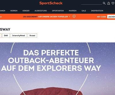 SportScheck Gewinnspiel - 10 OUTDOOR PACKAGES