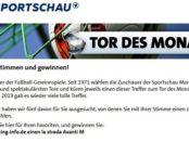 Sportschau Tor des Monats Gewinnspiel Wohnmobil gewinnen