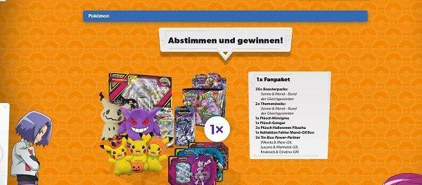 Toggo Pokemon Halloween Gewinnspiel 10 große Fanpakete gewinnen