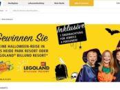real Halloween Gewinnspiel Legoland oder Heidepark Aufenthalt gewinnen