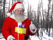 Adventskalender Gewinnspiele Santa Claus