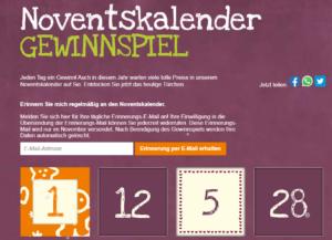 Alnatura Noventskalender steht schon jetzt vor der Tür!