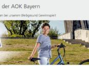 Bleibgesund Gewinnspiel - AOK – Die Gesundheitskasse - 20
