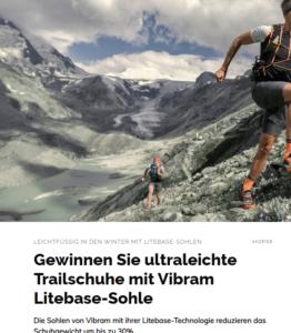 Ultraleichte Trailschuhe mit Vibram Litebase-Sohle zu gewinnen!