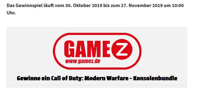 Gewinne eine Play Station 4 Pro & das neue Call of Duty: Modern Warfare