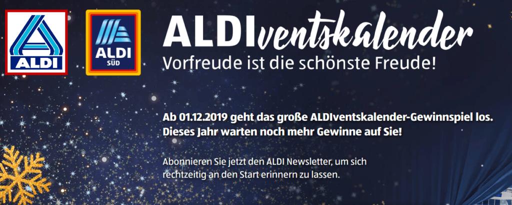 ALDIventskalender 2019: Tolle Preise warten schon!