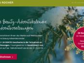 Yves Rocher - Online Beauty-Adventskalender 4 Adventsverlosungen