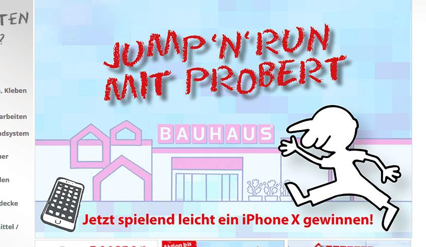 probau Gewinnspiel: 1x Iphone X zu gewinnen!