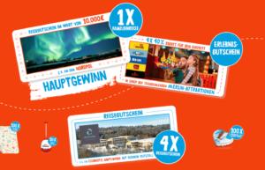 Ferrero Weihnachtsgewinnspiel: 1x Familienreise für 10.000€ und Vieles mehr gewinnen!