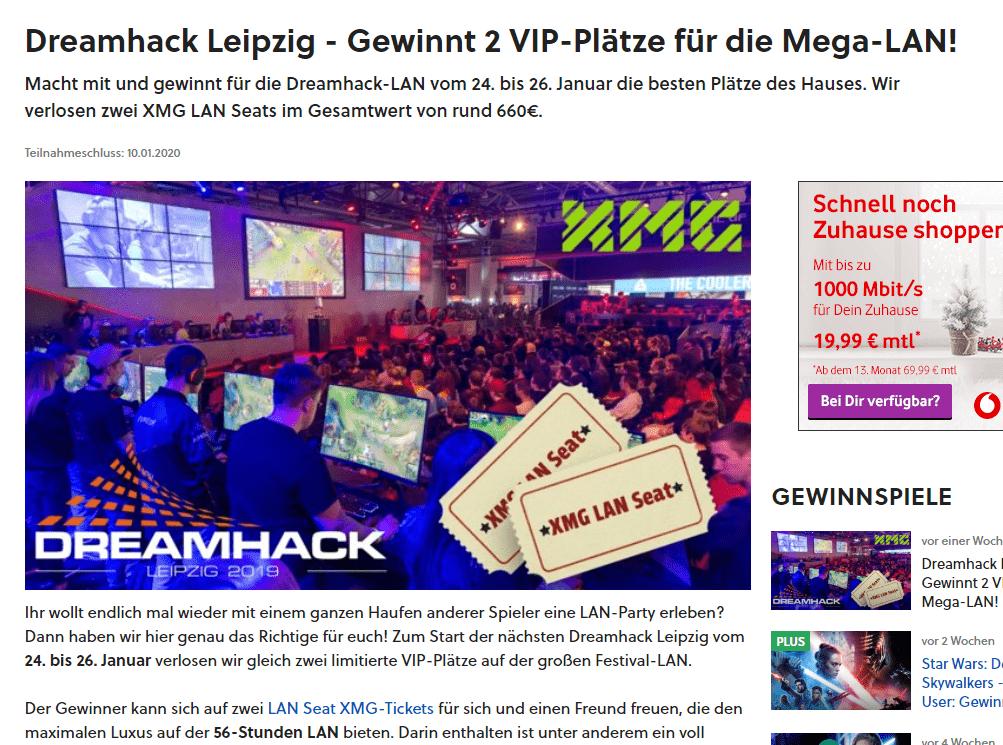 Gewinnt 2 VIP Plätze für die Mega-LAN mit Gamestar!