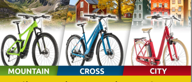 E-Bike Gewinnspiel: Du entscheidest welches du haben möchtest!