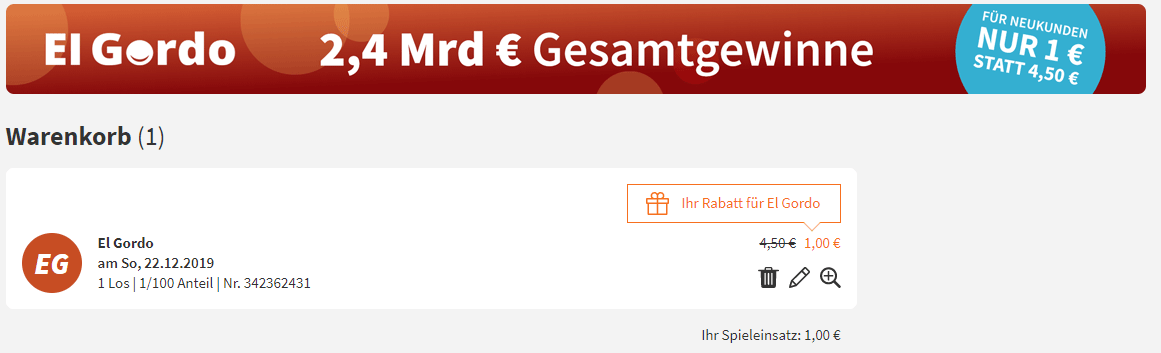 """(UPDATE) 2,4 Mrd € Gesamtgewinne! Die spanische Weihnachtslotterie """"El Gordo"""" 2019!"""