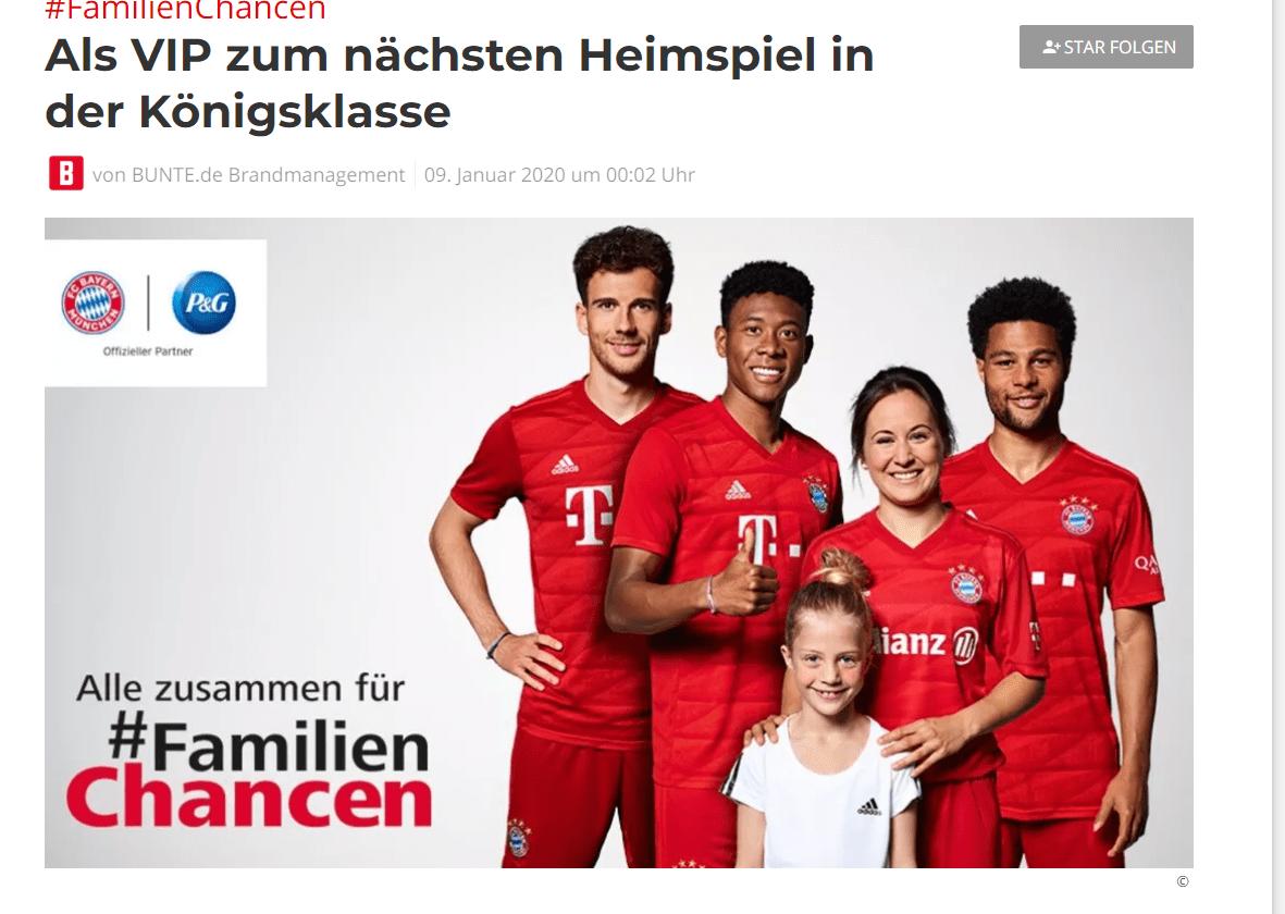 BUNTE Gewinnspiel: 2 VIP Tickets für das nächste Heimspiel des FC Bayern gegen Chelsea gewinnen!