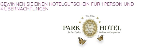 4 Nächte im Parkhotel Bad Füssing gewinnen!
