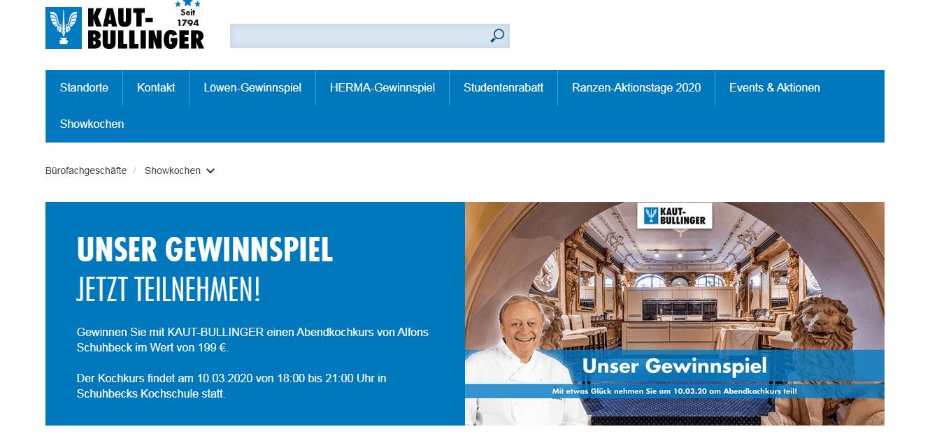 Showkochen Gewinnspiel: Abendkochkurs von Alfons Schuhbeck gewinnen (Wert: 199€)