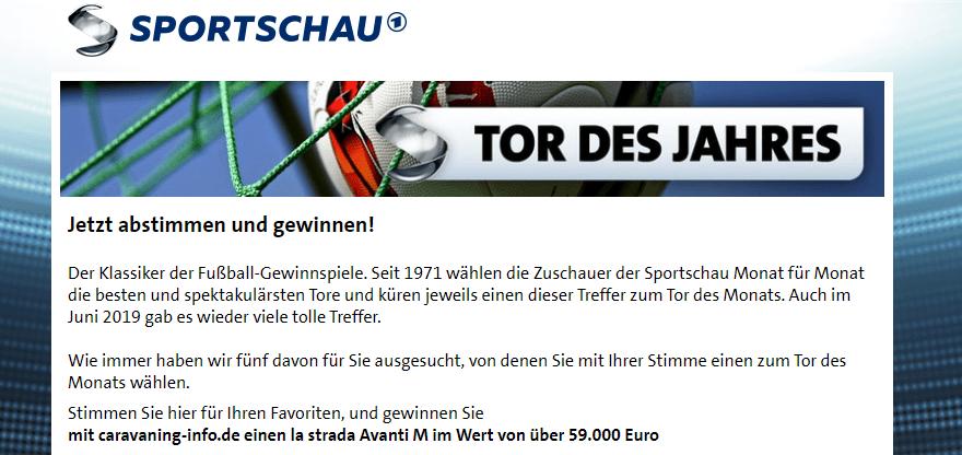 Sportschau Gewinnspiel