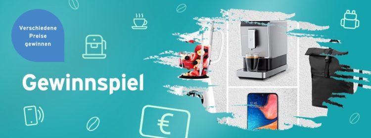 Tchibo Gewinnspiel: Tchibo-Produkte im Gesamtwert von  2.800 Euro zu gewinnen