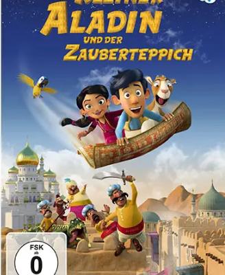 """Cityguide Rhein-Neckar Gewinnspiel: Sichert euch 1 von 3 DVDs """"Kleiner Aladin und der Zauberteppich"""""""