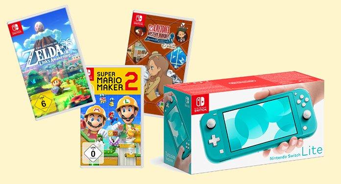 ajouré men Gewinnspiel: Nintendo Switch Lite und 3 Spiele zu gewinnen