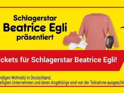 Netto Markendiscount Gewinnspiel: Tickets für Beatrice Egli zu gewinnen
