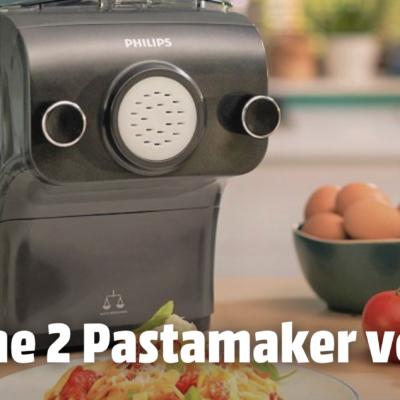 MediaMarkt Gewinnspiel: 2 Philips Pastamaker zu gewinnen!