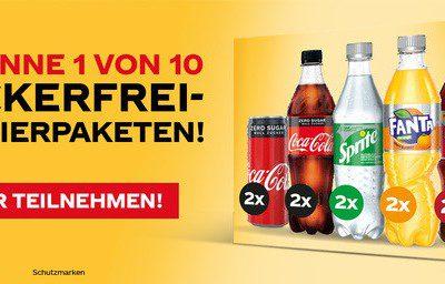 myTime Gewinnspiel: Jetzt Coca-Cola-Probierpaket sichern