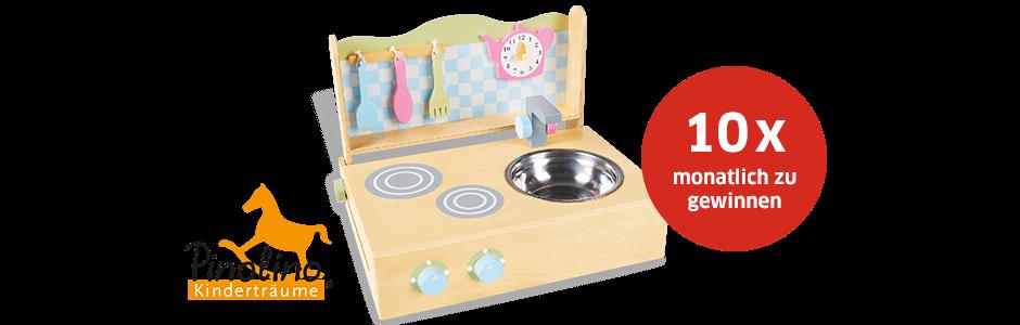 Bebivita Gewinnspiel: Jetzt eine von 10 Pinolino Tischküchen gewinnen