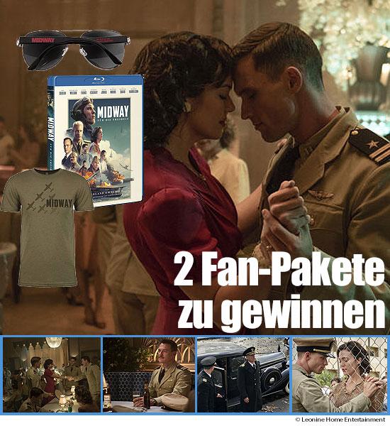 """bluray-disc.de Gewinnspiel: """"Midway – Für die Freiheit""""- Fanpaket zu gewinnen"""