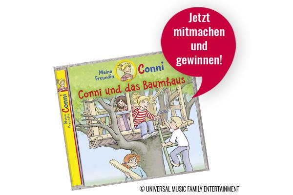"""kribbelbunt.de Gewinnspiel: Das neue Hörspiel """"Conni und das Baumhaus"""" zu gewinnen"""